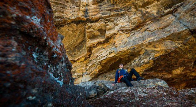 mt piddington - bushrangers cave